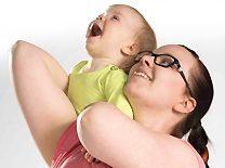 Pehmeä nykytanssi vauvan kanssa